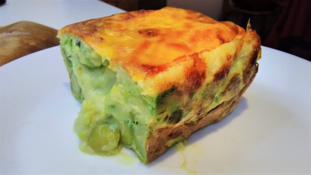 Awesome casserole with avocado