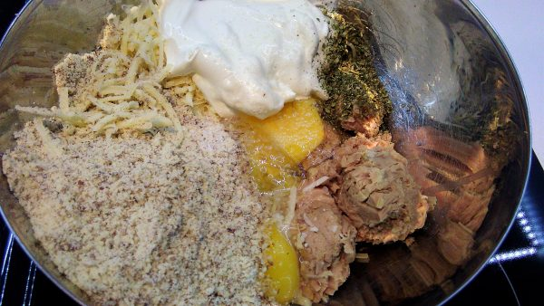 Tuna Cheese Crust Ingredients