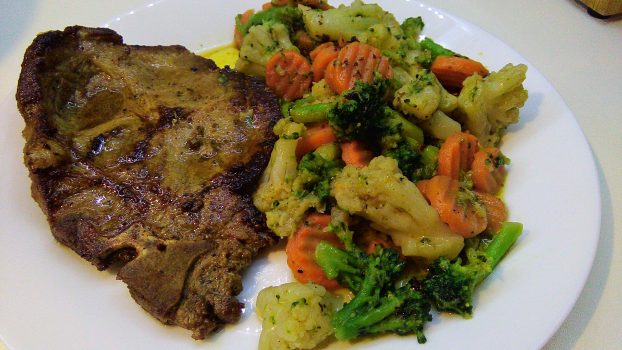 Spicy Lemon Marinated Pork Chop