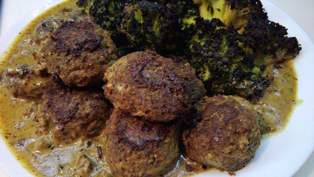 Chicken Heart Tuna Meatballs