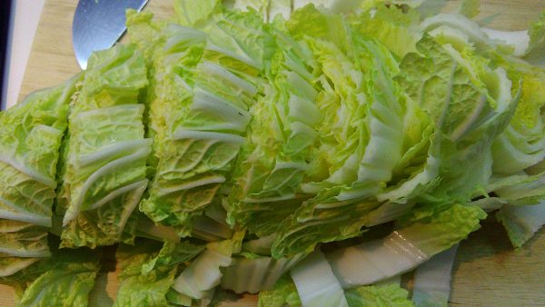 Cut Chinese Cabbage