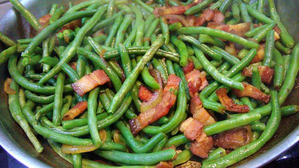 Asian Stir Fried Pork Belly & String Beans
