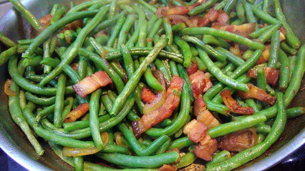 Asian Stir Fried Pork Belly & String Beans