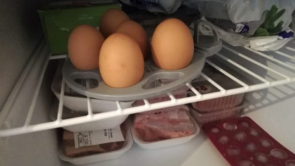 Eggs in Freezer