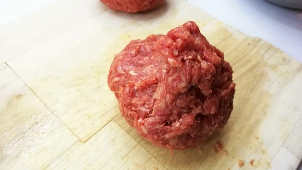 Ground Beef Wrapped Egg